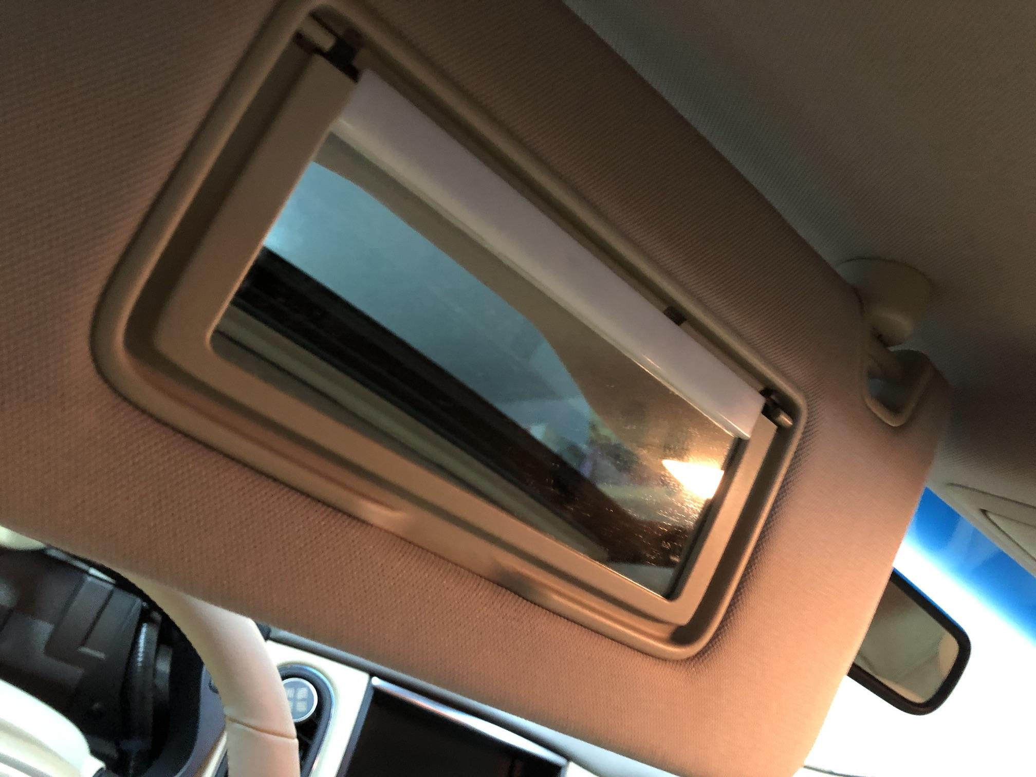 Солнцезащитный козырек водительский Infiniti EX35